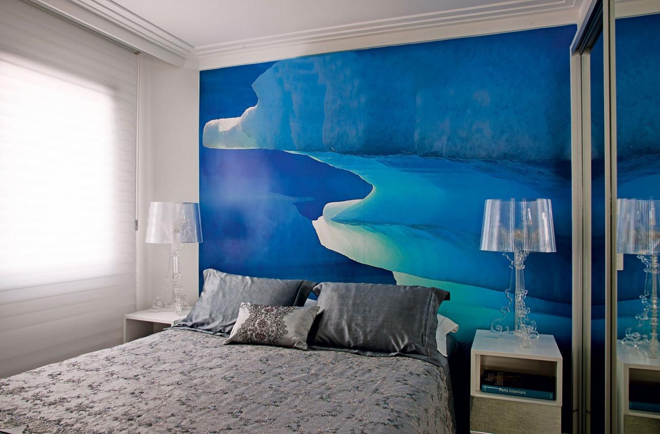 Красивая комната в морском стиле