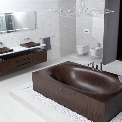 Красивый дизайн ванной комнаты фото