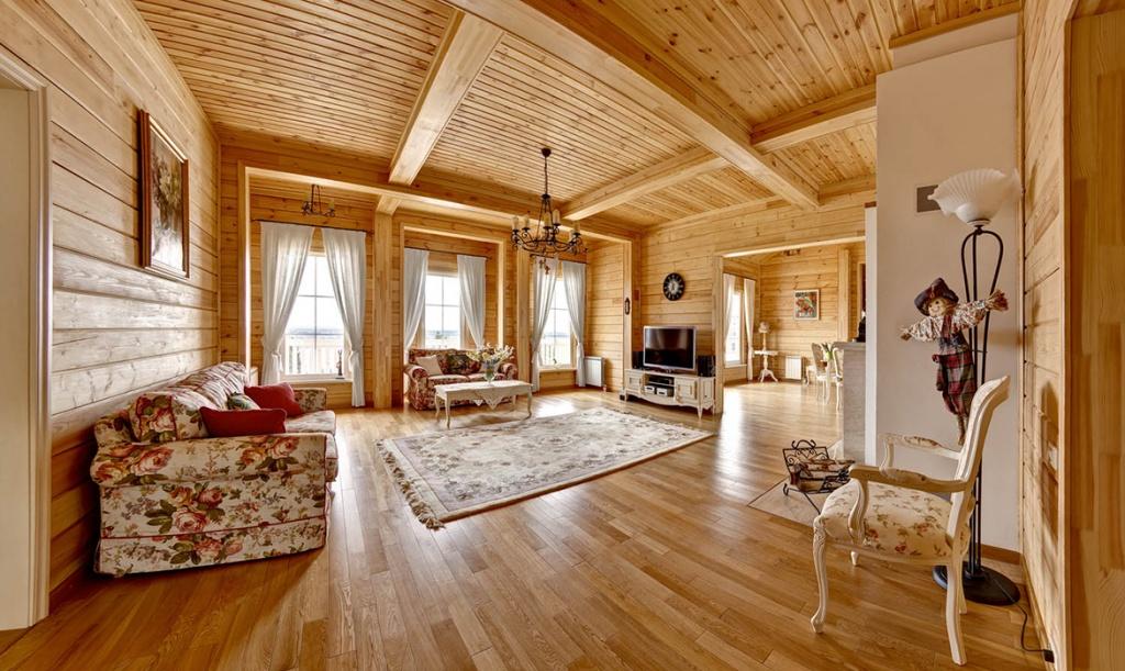 Крутая комната в русском стиле