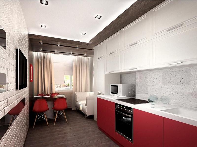 Современная кухня в лаконичном стиле минимализм