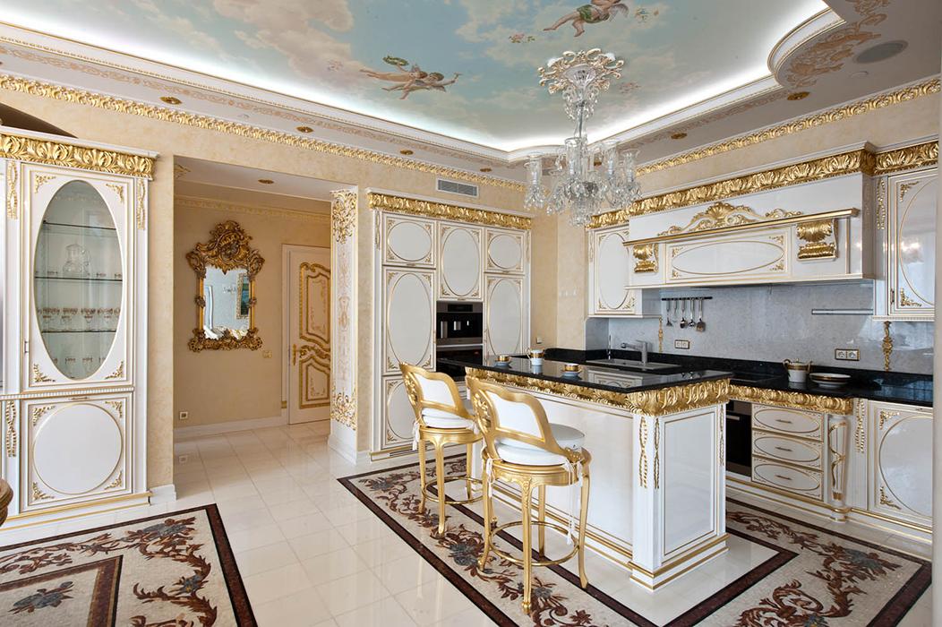 Кухня в стиле рококо фото