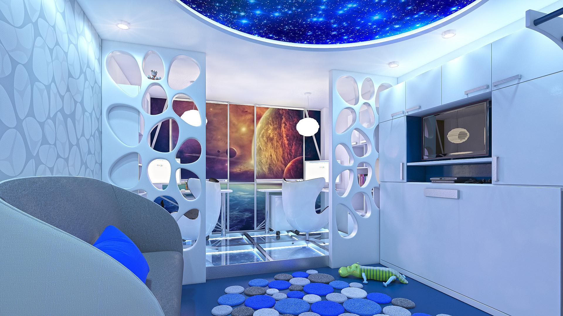 Квартира в урбанистическом стиле