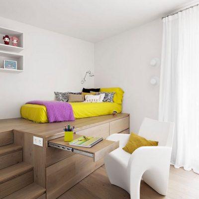 Минимум мебели в детской комнате