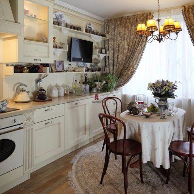 Модная кухня в стиле рококо фото