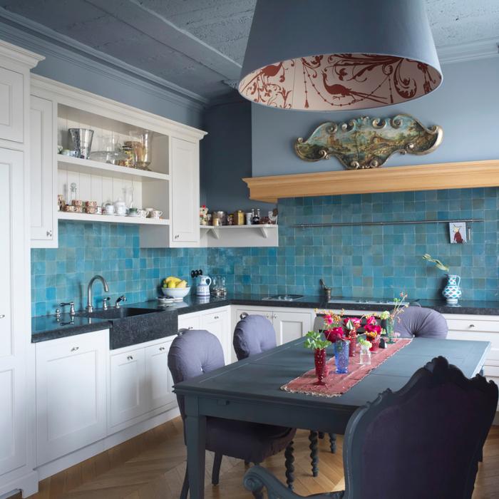 Морской стиль кухни