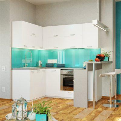 Морской стиль в интерьере кухни