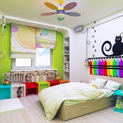 Нереально красивые шторы для детской