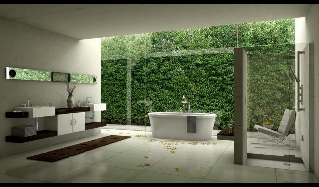 Новые веяния в дизайне ванных комнат