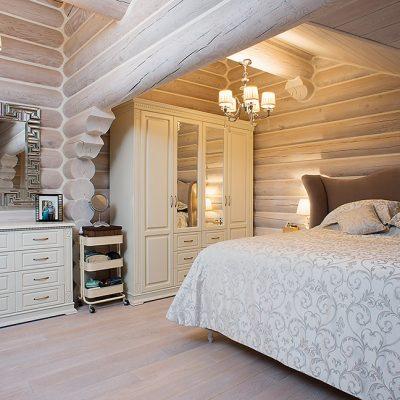 Оформление комнаты в традиционном русском стиле