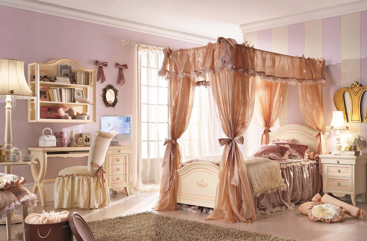 Оформление спальни в стиле ренессанс