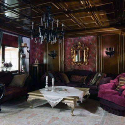 Оформляем интерьер гостиной в частном доме