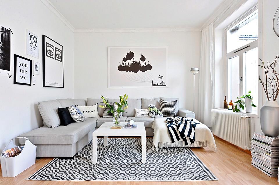 Особенности дизайна комнаты в скандинавском стиле