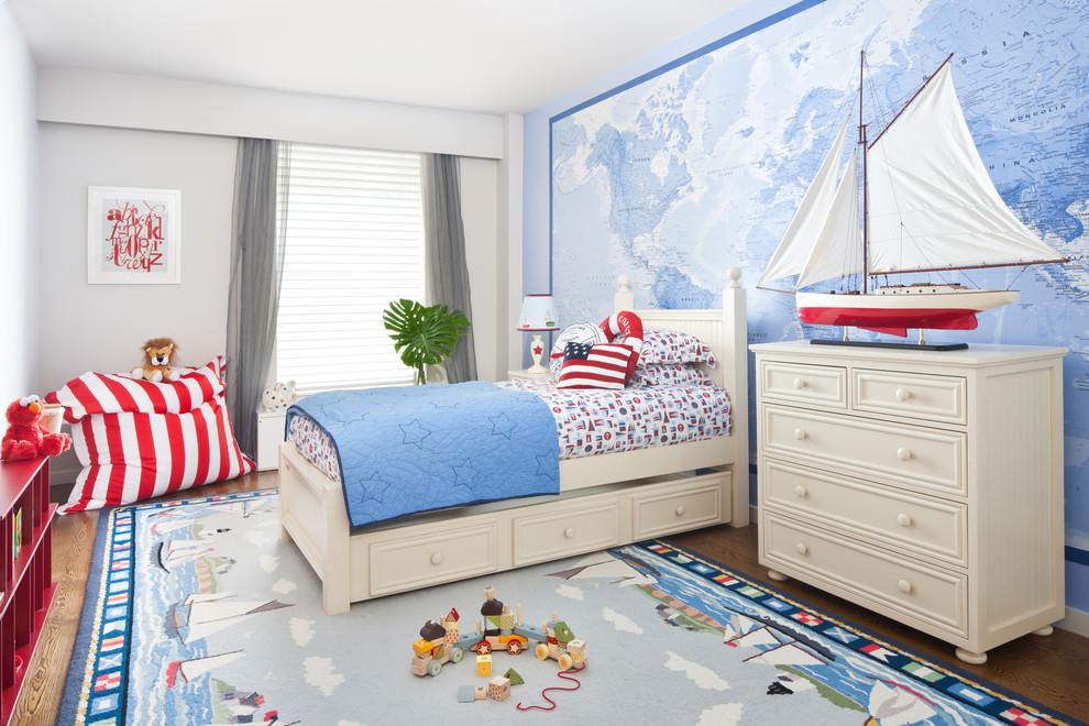 Особенности оформления комнаты в морском стиле