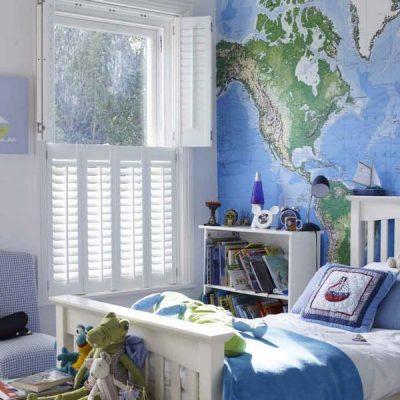 Отделка комнаты в морском стиле