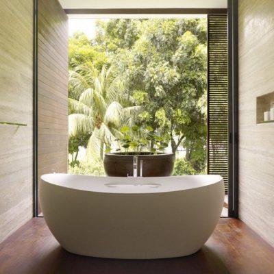 Отличная идея для ванной комнаты