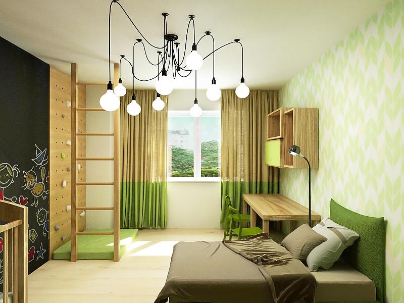 Отличное оформление спальни