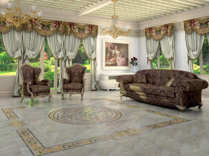 Преображение гостиной в стиле ампир