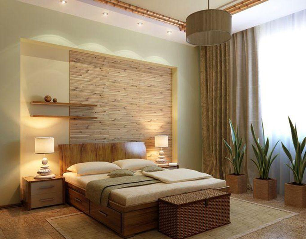 Пример оформления спальни