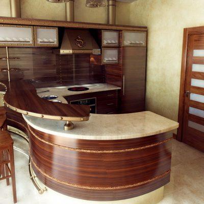 Проект квартиры в морском стиле