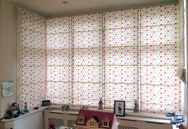 Шикарные шторы для детской