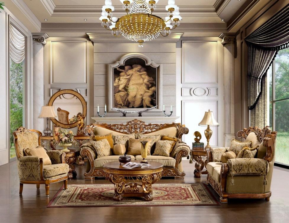 Сочетание классицизма и роскоши
