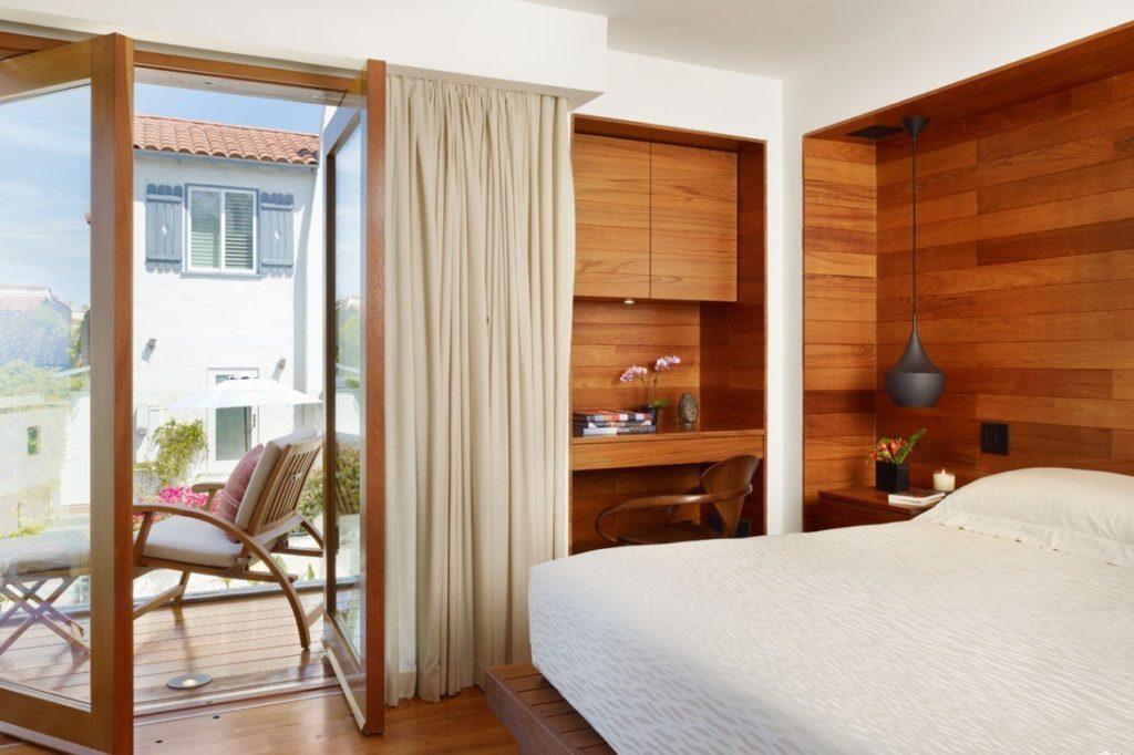 Спальня в эко стиле пример фото