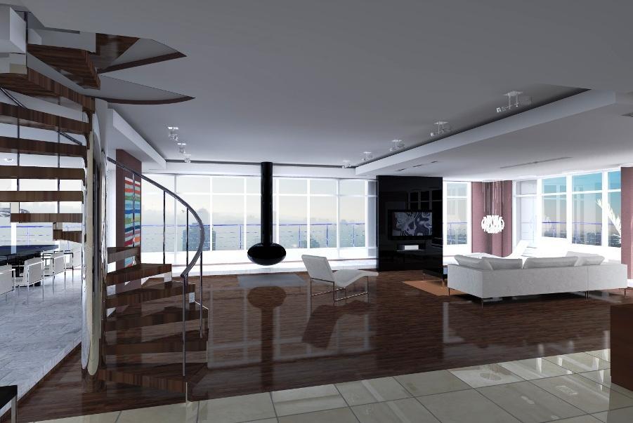 Дизайн офиса в стиле хай-тек