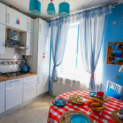 Стиль кухни в морском стиле