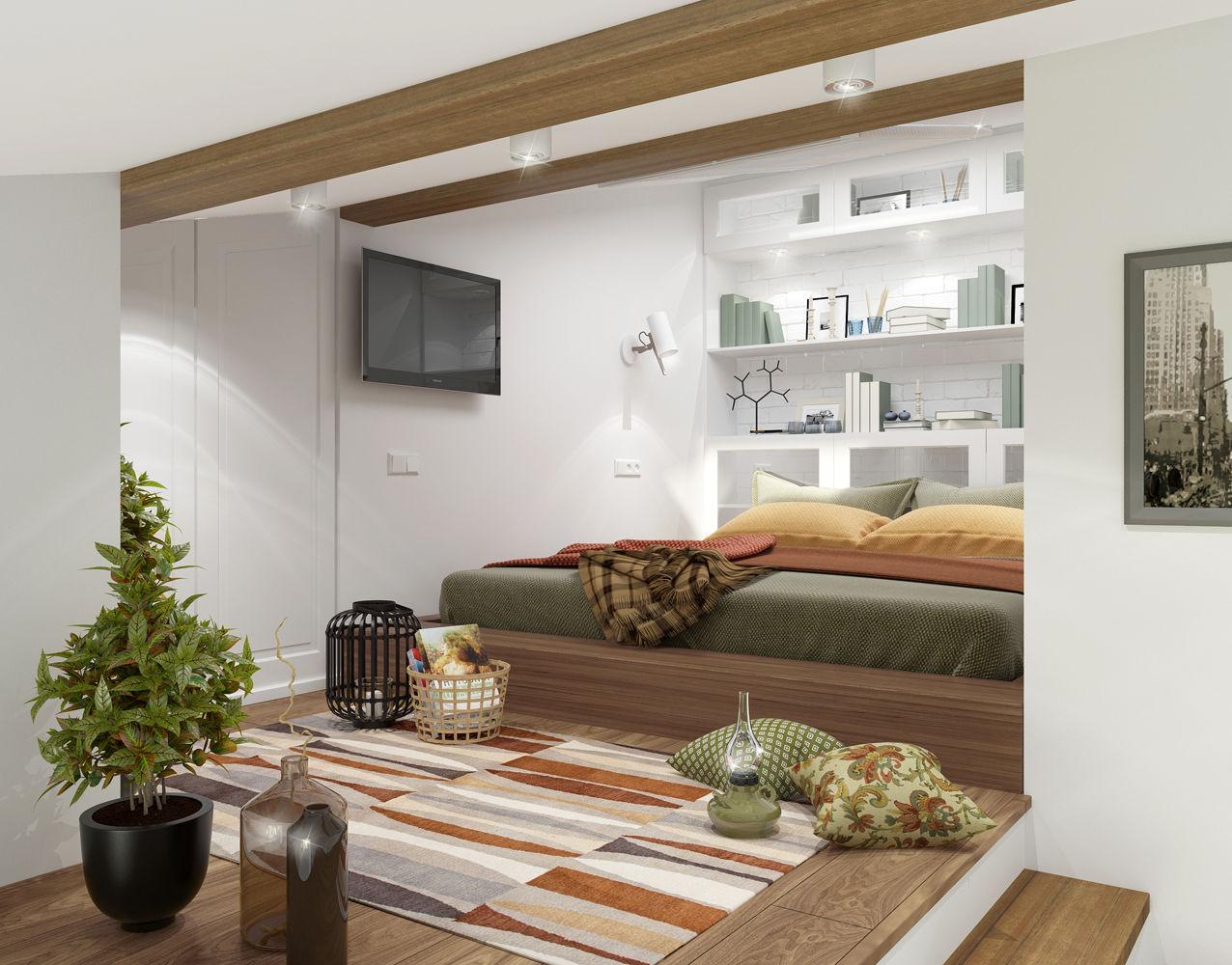 Удачный пример интерьера квартиры