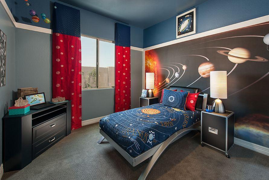 Украшение комнаты в космическом стиле