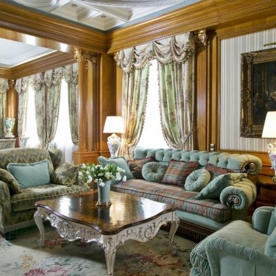 Викторианский стиль в интерьере фото