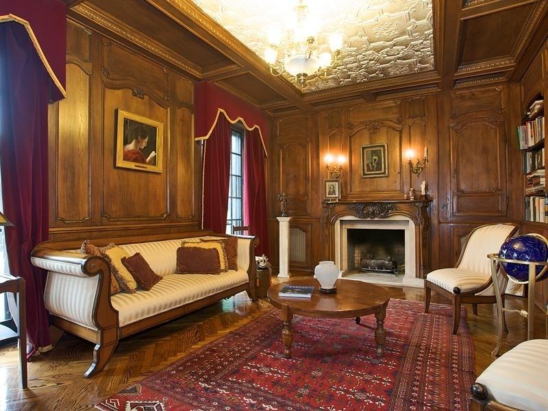 Викторианский стиль в интерьере гостиной фото
