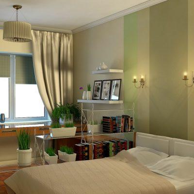 Визуализация квартиры в эко стиле