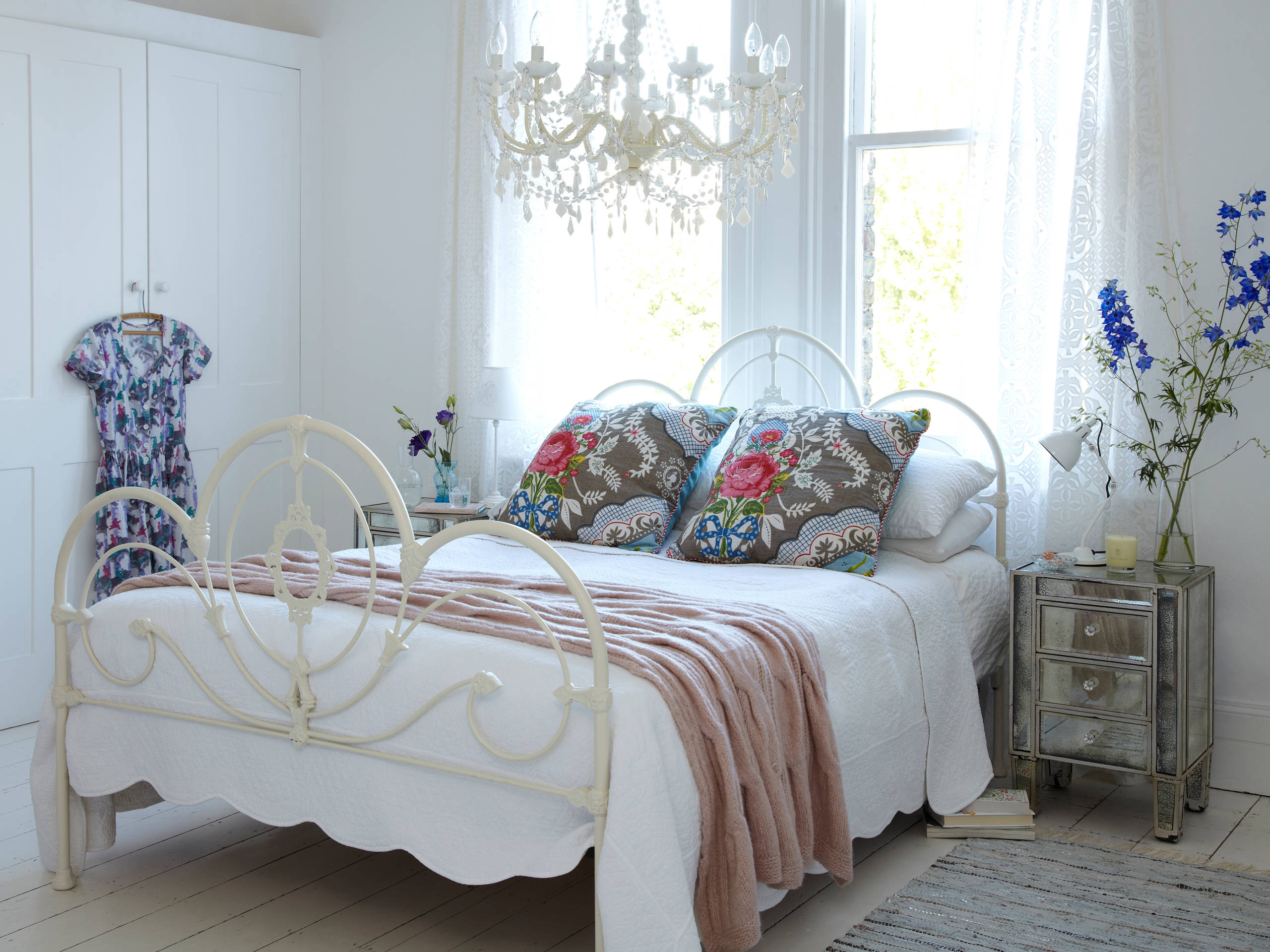 комната для девочки в стиле шебби-шик