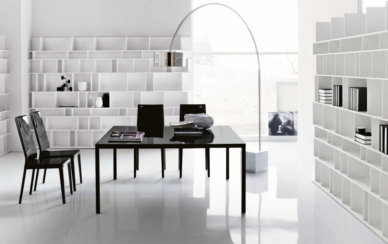 Как должен выглядеть современный кабинет в стиле модерн