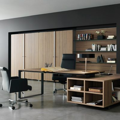 Строгий кабинет в стиле модерн