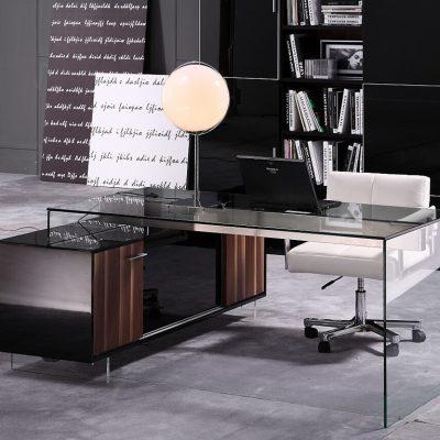 Пример кабинета в стиле модерн
