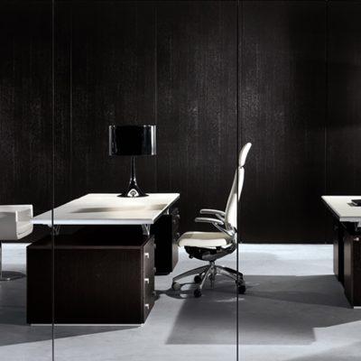Отделка кабинета в стиле модерн