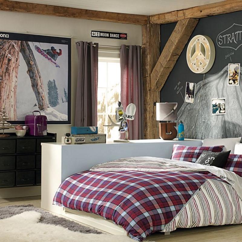 Комната для подростка в американском стиле