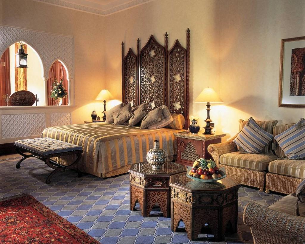 Наследие махарадж - комната в индийском стиле