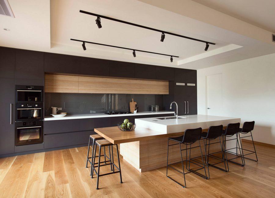 Удобство, простота и функциональность кухни в стиле контемпорари