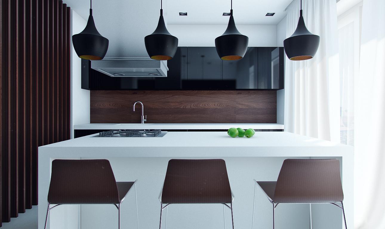Мини-кухня для небольшой квартиры