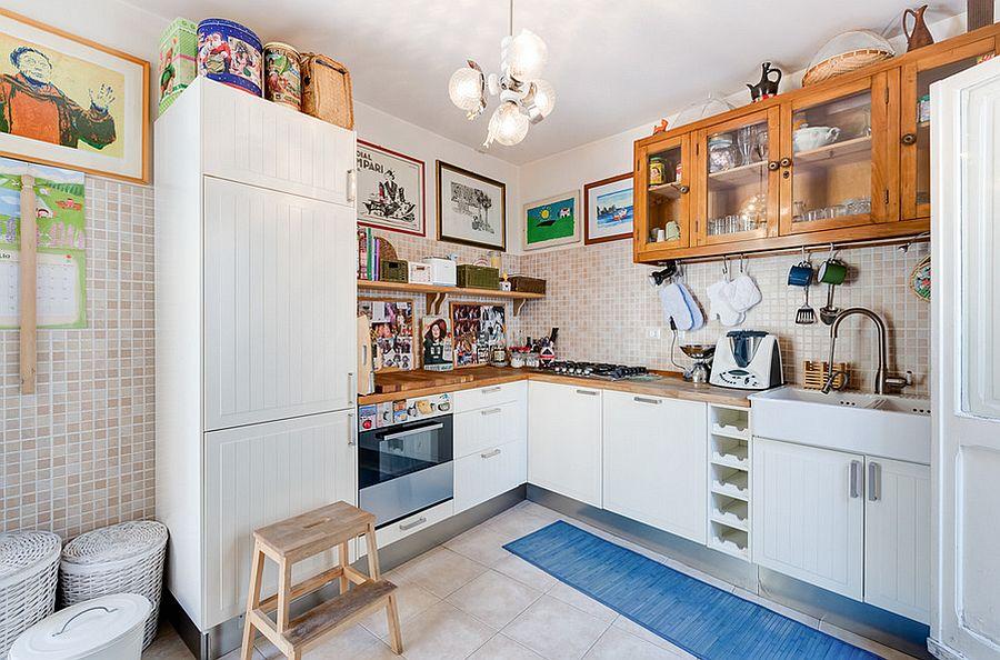 Маленькая кухня эклектика