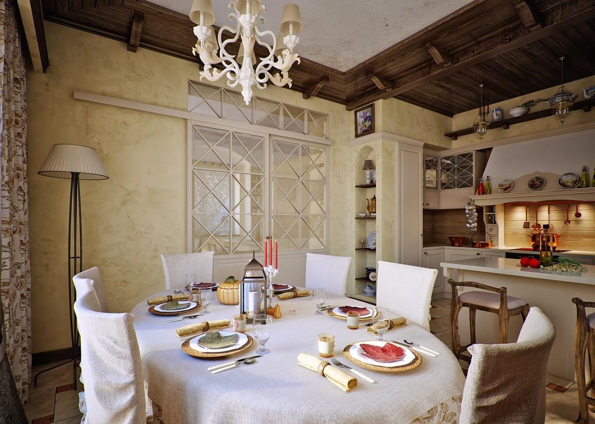 Кухня, совмещенная со столовой