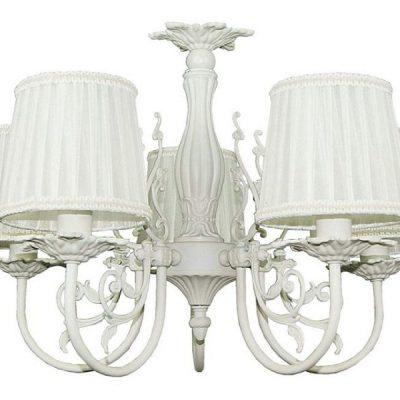 Белая люстра в прованской стилистике
