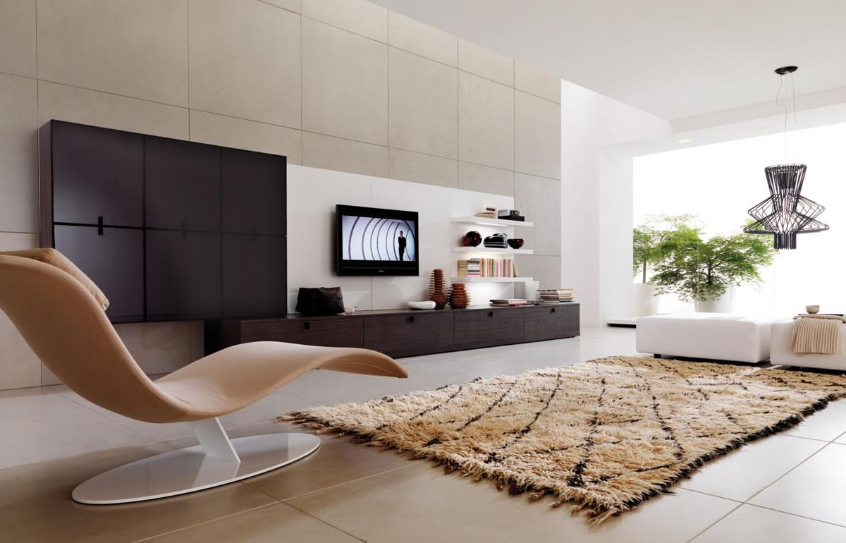 Как выбрать стенку и другую мебель в гостиную в современном стиле