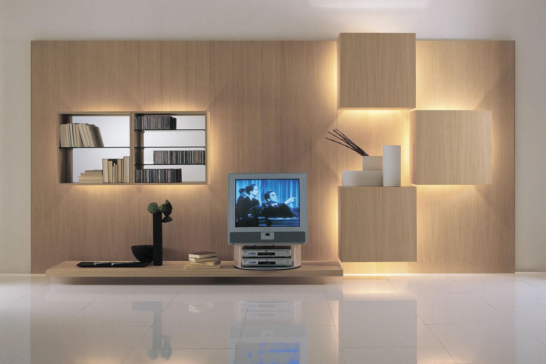 Современная модульная гостиная может воплощаять самые смелые идеи