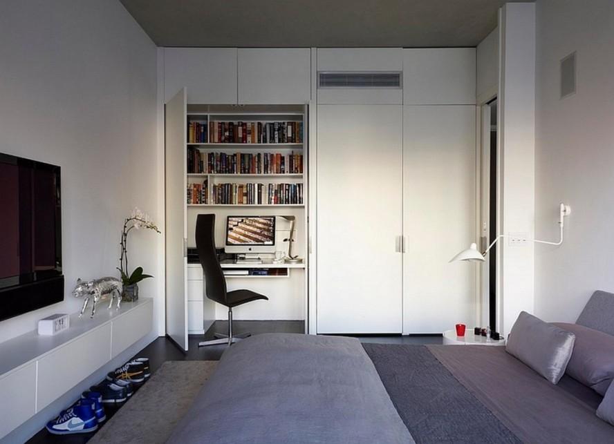 Комната для подростка в стиле минимализм