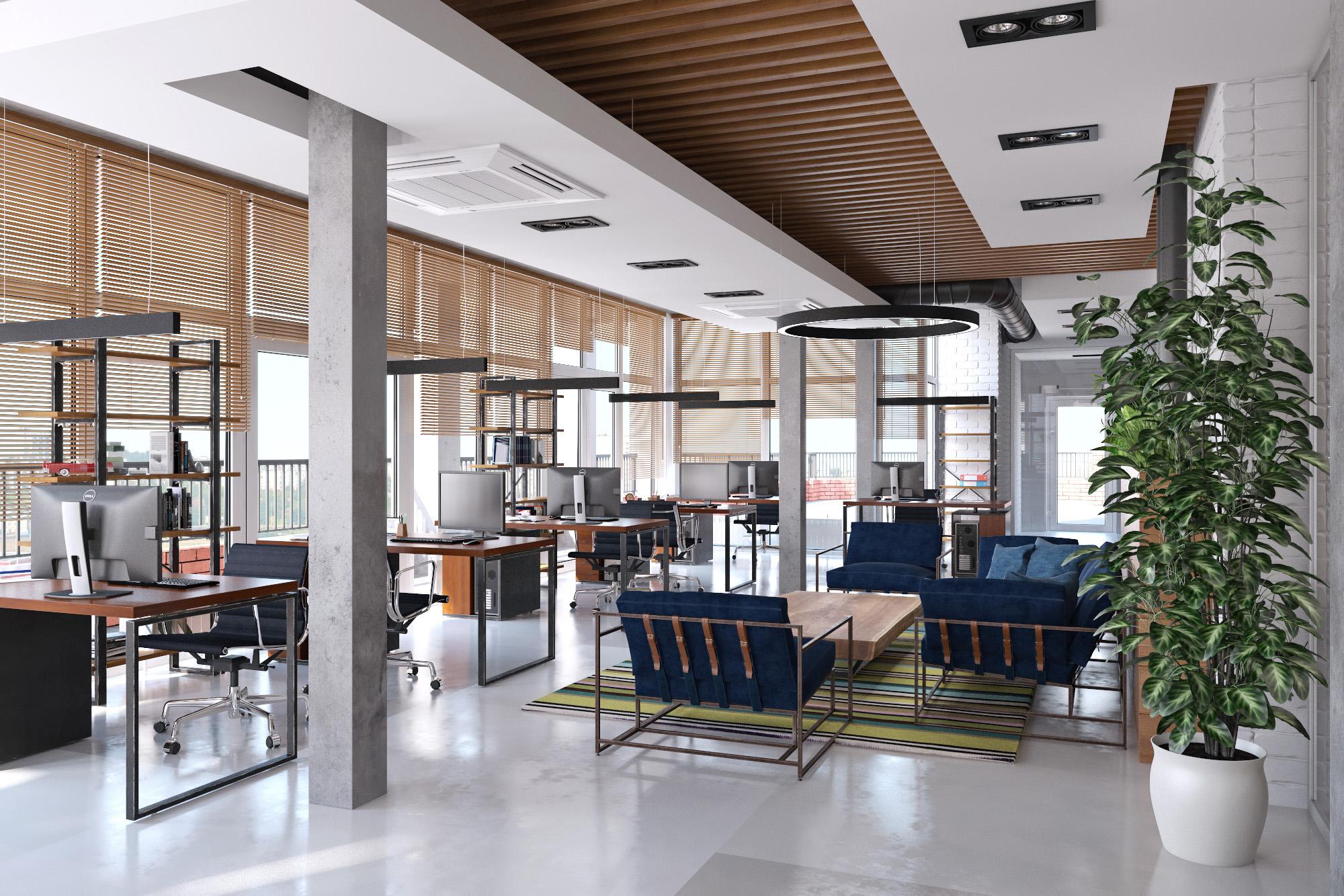 Модульные мебельные конструкции - это самый простой способ обставить офис