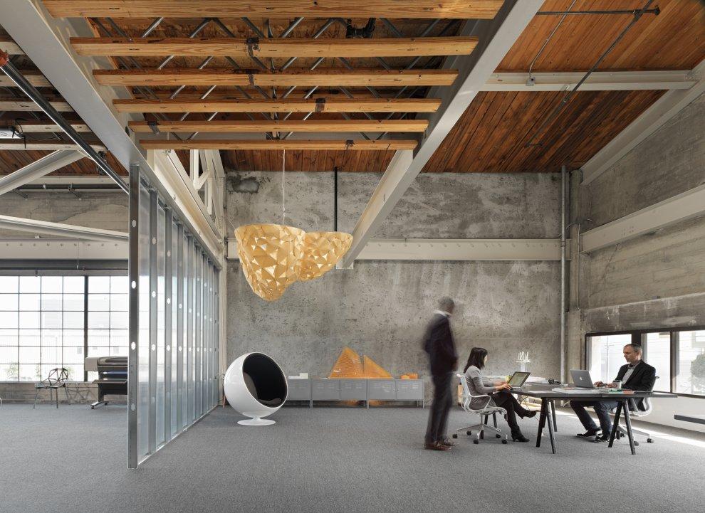 Лофт - идеальный стиль для бывших промышленных зданий